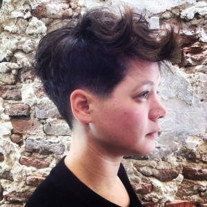 Jeamy heeft nieuw haar fresh haircut fohn zwolle kapper