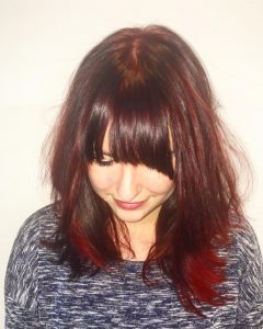 A Redhead From Now On mooierooie redhead beauty fringe Fohnhellip